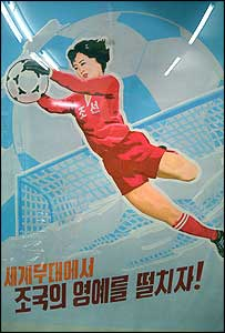 Nordkorea liebt den Fussball