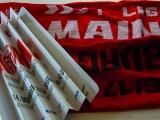 Matchschal Mainz vs Freiburg plus Klatschpappe
