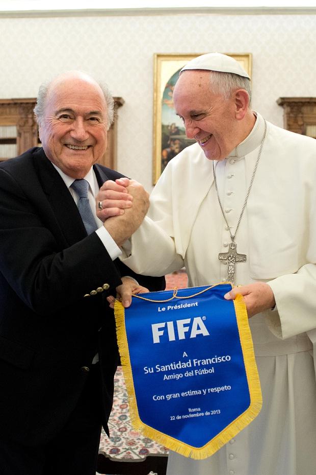 Blatter und der Papst
