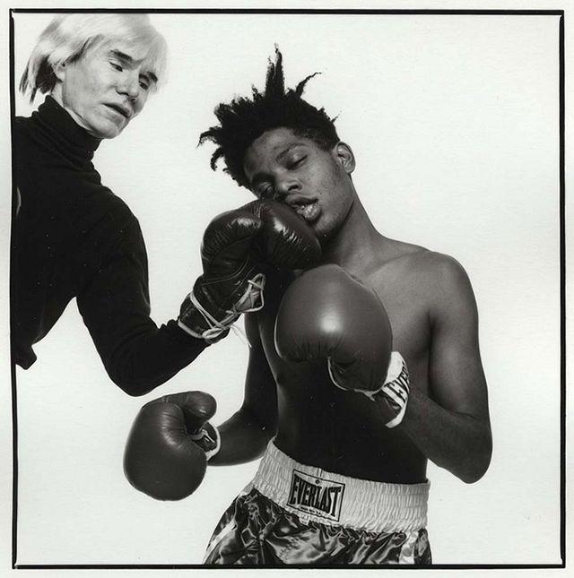 Andy Warhol und Jean-Michel Basquiat