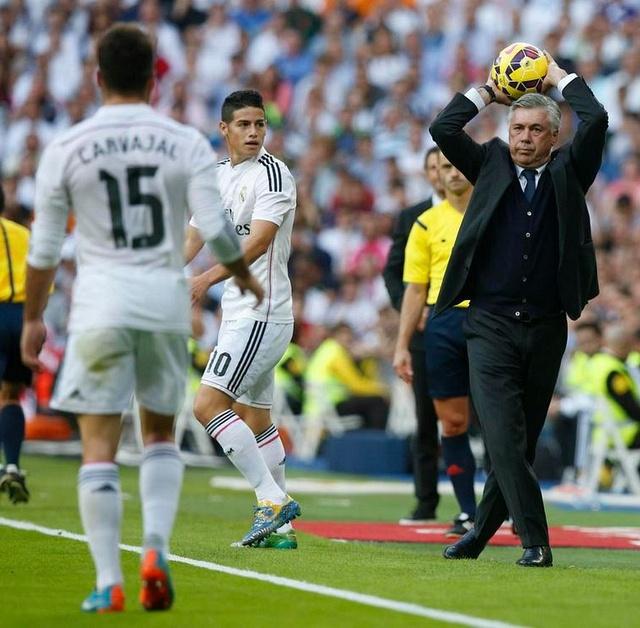 Calo Ancelotti hat alles richtig gemacht.