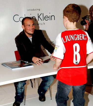 Ljungberg an einem Calvin-Klein-Anlass, 6. November 2003