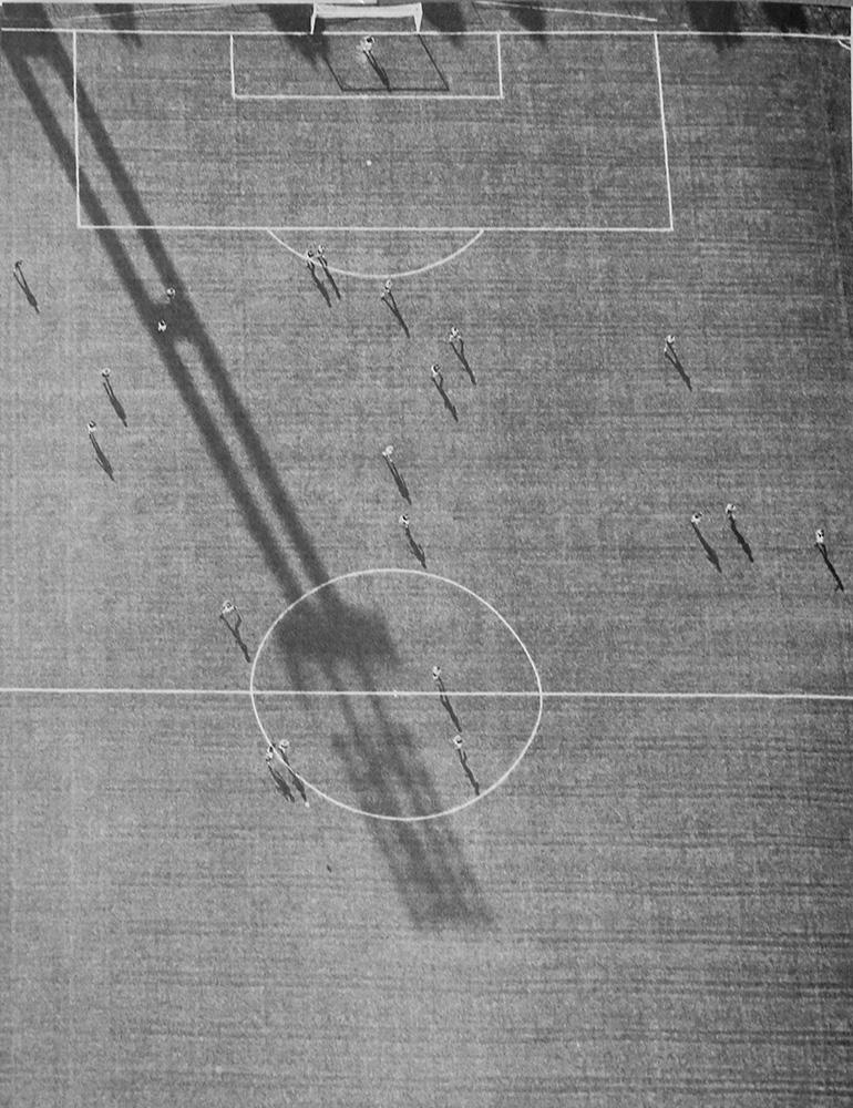 Stadion Wankdorf, ca. 1976. Foto: Fernand Rausser