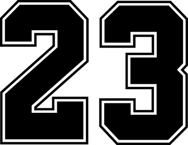 jordan-23-number-sticker-6783