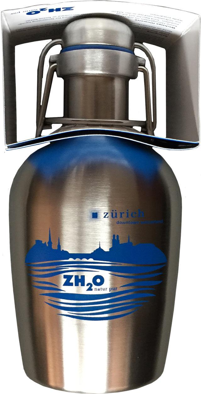 zh2o flasche zum runden leder. Black Bedroom Furniture Sets. Home Design Ideas