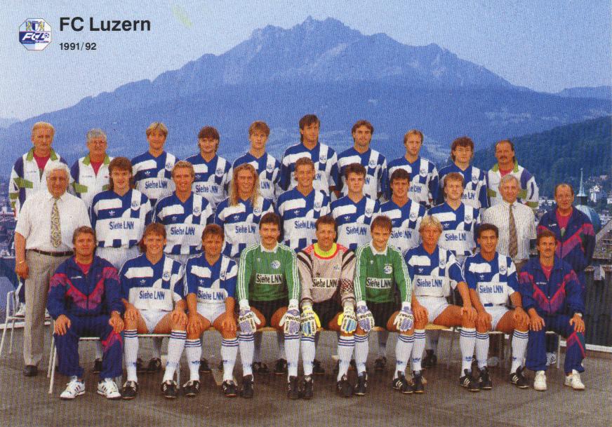 FCLuzern19911992