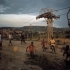 magnumfootball_13_brunobarbey_childrenplayingbyamanganeseminingtransportsystem_gabon_1984